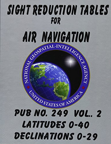 Sight Reduction Tables for Air Navigation Vol 2 Volle Navigation