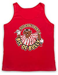 Inspired by Bullseye You Can't Beat A Bit Of Bully Unofficial Tank Top Vest