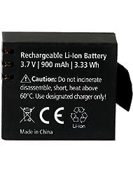 Rollei 20135 Batterie pour Caméra d'action 510/610/525/625 Noir