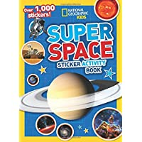 Super Space Sticker Activity Book: Over 1,000 stickers! (NG Sticker Activity Books)