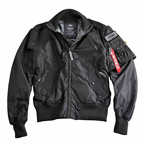Alpha Industries Starfighter Flight Jacket Black