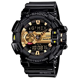 Casio G-Shock Analog-Digital Black Dial Men's Watch – GBA-400-1A9DR (G557)
