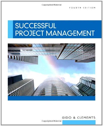 Successful Project Management (with Microsoft Project CD-ROM) by Jack Gido (2008-07-24) par Jack Gido;James P. Clements