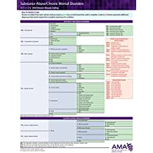 ICD-10 2018 Chronic Disease Coding Card - Substance Abuse/Chronic Mental Disorders  | Dementia
