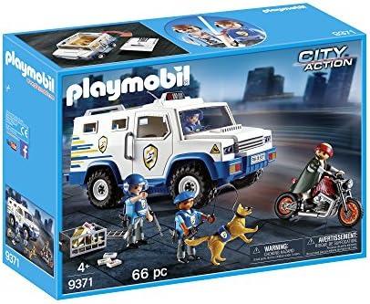 Nouvel An, les derniers fous se sont approchés Playmobil Fourgon Blindé, 9371   Emballage élégant Et Robuste