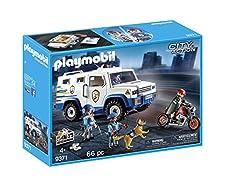 Playmobil Vehículo Blindado única 9371