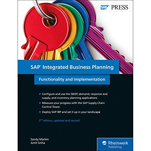 SAP Integrated Business Planning: Functionality and Implementation (SAP PRESS: englisch) - Software Business Inventory