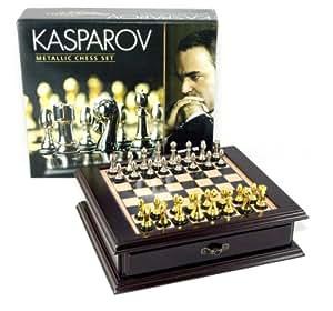 Kasparov - KAS002 - Jeu de Société - Coffret Échecs Kasparov - Luxe