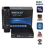 Receptor de TV Satélite DVB-S2 Decodificador de Satélite TV SAT Receiver Satellite Soporte PowerVu...