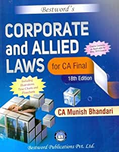 Corporate and Allied Laws - CA Final