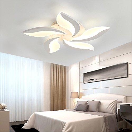 Acryl modern LED Deckenleuchte für Living Study Zimmer Lampe Birne Plafond Avize Indoor Lampe, 5 Köpfe-Helligkeit dimmbar Weihnachten Thanksgiving Birthday Silvester Geschenk -