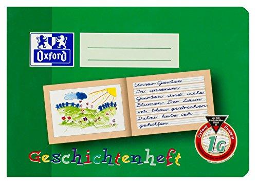 OXFORD 100050103 Geschichtenheft Schule 10er Pack A5 16 -