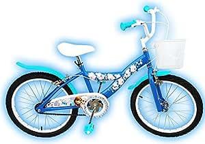 20 Zoll Kinder Mädchen Kinderfahrrad Fahrrad Mädchenfahrrad Rad Bike Disney Frozen Eiskönigin