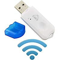 Generic BT-03 USB Bluetooth Receiver Dongle with Mic (White)