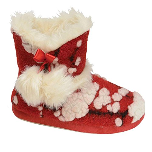 Footwear Studio - Stivali da Neve donna , Rosso (Red Julia), 38/39