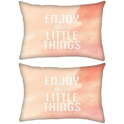 lot-de-2enjoy-the-little-things-rectangle-toss-couvre-lit-taie-doreiller-housse-de-coussin-decoarati