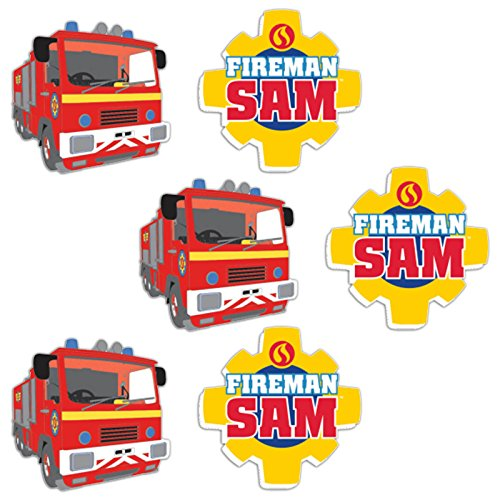amscan 9902190Sam Le Pompier gommes