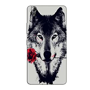 WOLF LOVE BACK COVER FOR LENOVO A6010