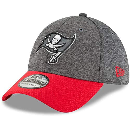 New Era 39Thirty Cap Sideline Graphite Tampa Bay Buccaneers - M/L