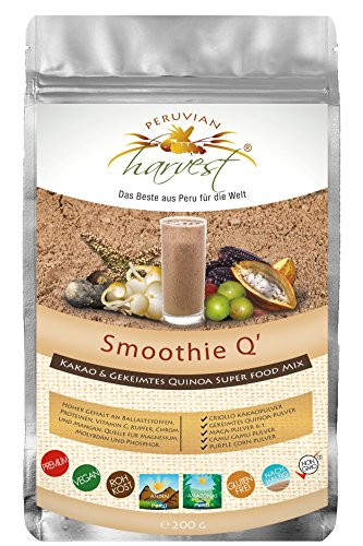Super Smoothie Mix (UHTCO Peruvian Harvest Smoothie Q | Super Food Mix 200g | Das Beste aus Peru für die Welt)