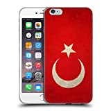 Head Case Designs Türkei Türkisch Vintage Fahnen Soft Gel Hülle für iPhone 6 Plus/iPhone 6s Plus