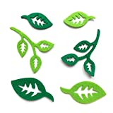 Bastelfilz Figuren Set - Blätter, sortiert - Filz, Textilfilz, Streudeko