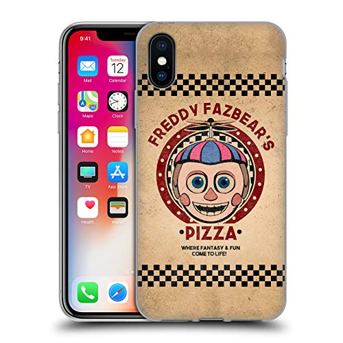 Official Five Nights At Freddy's Balloon Boy Freddy Fazbear's Pizza Soft Gel Case for iPhone X