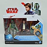 Star Wars Force Link Actionfiguren 10 cm Doppelpacks 2017 Wave 1 - Han Solo & Boba Fett