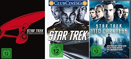 Star Trek (Kinofilme 1-12) - Stardate Collection (Filme 1-10) + DVD 11+12 im Set - Deutsche Originalware [12 DVDs]