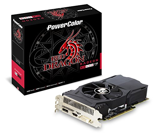 Powercolor Rx 460 Graphics Cards Axrx 460 2Gbd5-Dh Oc