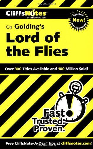 """Buchseite und Rezensionen zu 'Cliffs Notes on Golding's """"Lord of the Flies""""' von Maureen Kelly"""