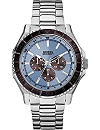 Guess Herren-Armbanduhr Analog Quarz Edelstahl W0479G2