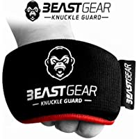 Beast Gear Advanced Boxing Knuckle Guards - Knuckle Protection for Combat Sports, MMA and Martial Arts.