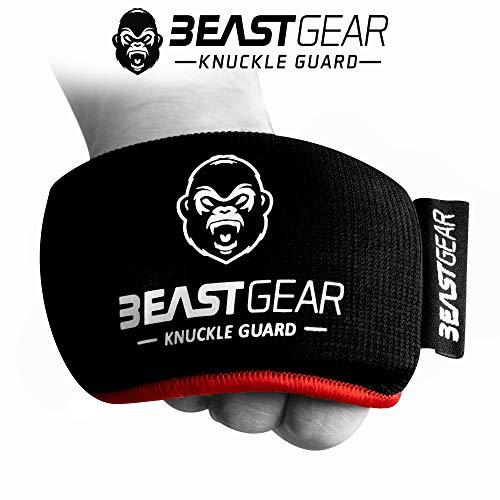 Beast gear protezioni per nocche professionali da indossare sotto i guantoni - paranocche per boxe, pugilato, kick boxing, mma e sport di combattimento