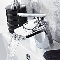 VeeBath Delta Fantasy Bathroom Taps  Chrome Waterfall Basin Mixer Tap