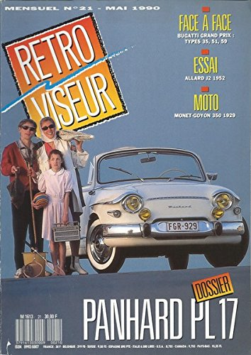 RETRO VISEUR N21 Panhard PL17