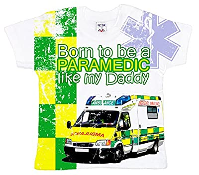 Dirty Fingers, Born to be a Paramedic like my Daddy, Baby Boy T-shirt