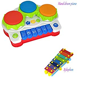 Baby Moving Toy, Early Educational Toys with Moving Eyes and Flashing Tentacle for Preschoolers