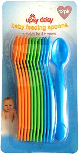 Kunststoff Baby Füttern/entwöhnen Löffel ~ 12Stück