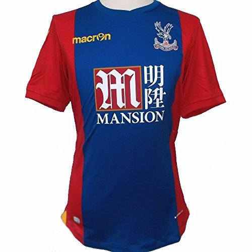 Macron Crystal Palace FC Herren Fußballtrikot 2016/17 - UK/US-Large (EU-XL) Slim Fit