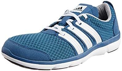 adidas Men's Element Soul 2 M Blue, White and Light Onix Mesh Running Shoes - 6 UK