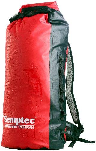 Semptec Urban Survival Technology Einkaufsrucksack: Wasserdichter Trekking-Rucksack aus LKW-Plane, ca. 50 l (Kurierrucksack)