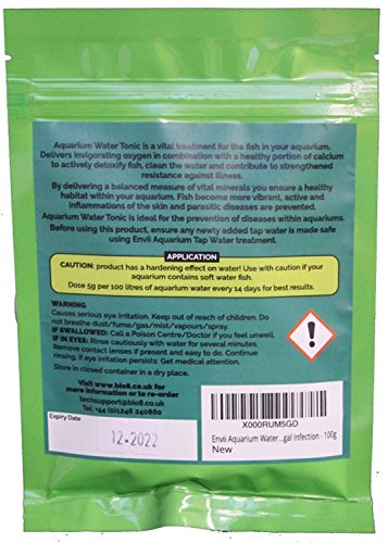 Envii Aquarium Water Tonic – Water Treatment Uses Vital Minerals To Reduce Fish Stress & Prevent Parasitic Disease and… 2