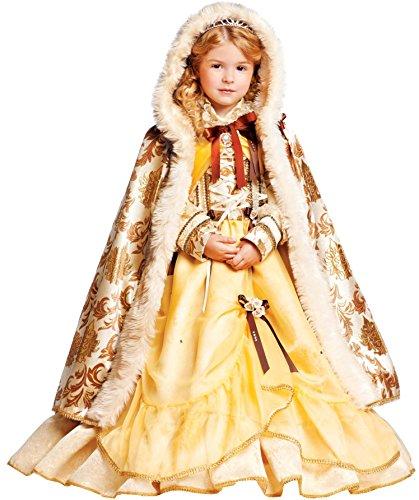 Carnevale Venizano CAV50530-S - Kinderkostüm BELLA - Alter: 7-10 Jahre - Größe: (Kostüme Veneziano)