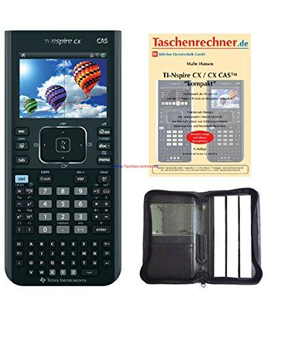TI Nspire CX CAS Paket 3(+Tasche+Buch) -