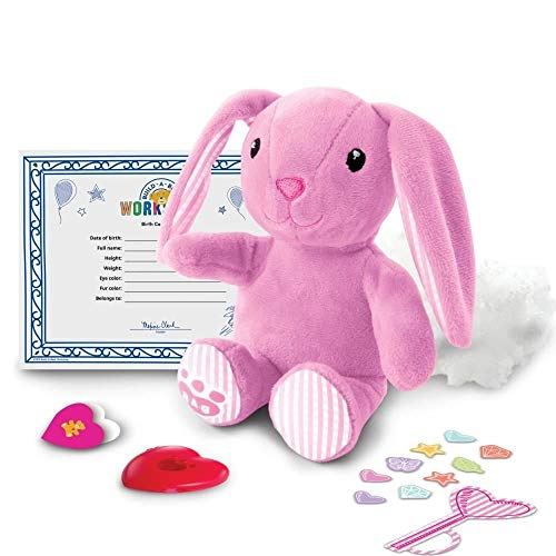 Spin Master Build-a-Bear Workshop Furry Friends - Pink Bunny 20094796 (Bunny Build A Bear)