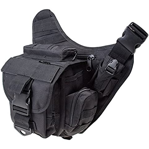 Contever® Multifunción Messenger Bag - Bolsa de Hombro Alforja Satchel / paquete de Cámara para Intemperie viajar