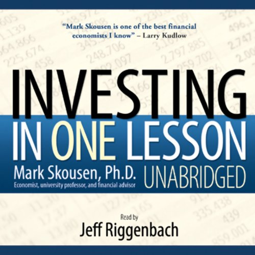 Investing in One Lesson  Audiolibri