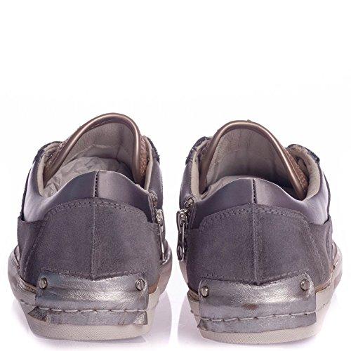 CRIME LONDON Sneakers basses pour femme Gris Gris - -