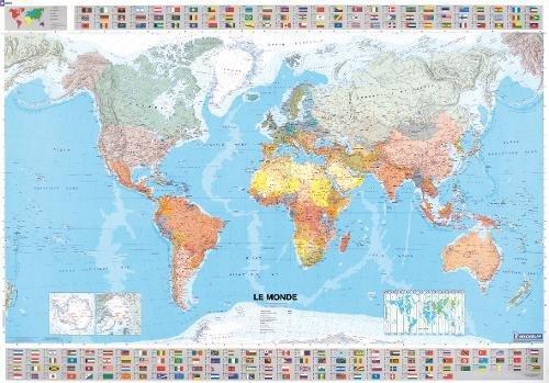 Carte Plastifie Roule Le Monde par Collectif Michelin